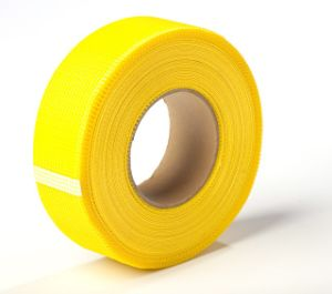China Low Price Fiberglass Self-Adhesive Mesh Tape (ZDFMT) pictures & photos