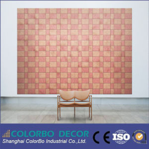 Classroom Wall and Ceiling Natural Wood Fiber Sound Absorption Panel pictures & photos