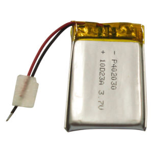 Lithium Ion Battery Pack MP3 Player Battery 3.7V (1000mAh)