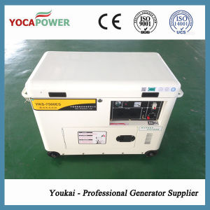 5kVA Single Phase Silent Air Cooled Power Diesel Generator Set pictures & photos