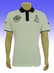 Custom Mens High Quality Embroidery Polo Shirt Design pictures & photos
