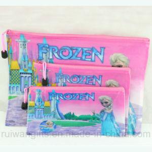 PVC A4 Document Bag, Frozen Stationery Bag Set pictures & photos