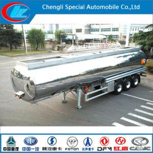 Saso 3 Axles Aluminium Alloy Fuel Tank Trailer pictures & photos