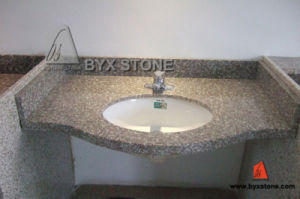 G664 Granite Stone Bathroom Vanity Top for Hotel Project pictures & photos