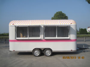 China, Snack, Fast Food, Booth. Vending, Mobile Foods Trailer, Carts pictures & photos