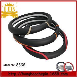 Fiber Leather Car Steering Wheel Cover, Guangzhou Factory