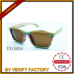Fashion Colourful Wooden Glasses (FX15054) pictures & photos