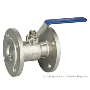 Stainless Steel Single Body Flanged Ball Valve pictures & photos