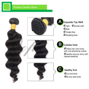 Natural Color Hair Extension Human Indian Hair Body Wave pictures & photos