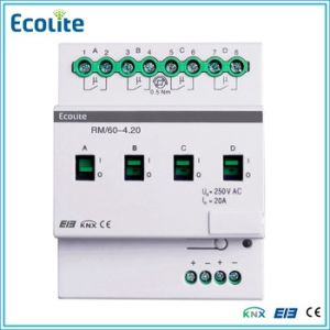 Knx Eib 4 Folds 20A Relay Module pictures & photos