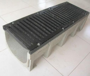 Cast Iron Grating Cover Drainage Channel pictures & photos