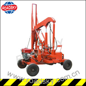 Hydraulic Road Safety Crash Barrier Installation Machine for Piling Post pictures & photos