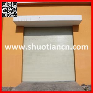 Manual Security Roll up Steel Door (ST-002) pictures & photos