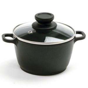 Amazon Vendor 1 Quart Nonstick Mini Pot with Glass Lid pictures & photos