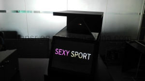 Active Transparent Display Stand and Reflection Hologram Display Stand pictures & photos