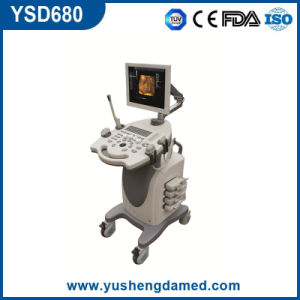 3D/4D Full Digital Medical Ultrasonic Trolley Color Doppler Ultrasound System pictures & photos