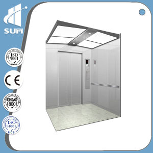 with Luxury Decoration and Speed 1.0m/S Passenger Elevator pictures & photos