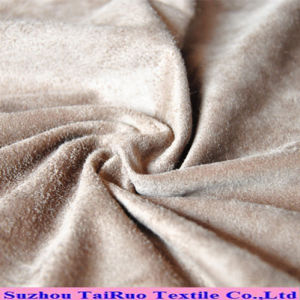 Microfiber Suede for Sofa Making and Furniture Cover pictures & photos
