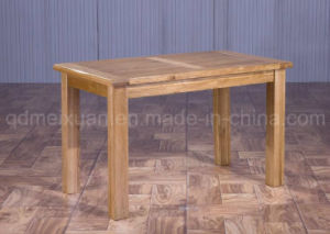 Solid Wooden Dining Table Living Room Furniture (M-X2879) pictures & photos