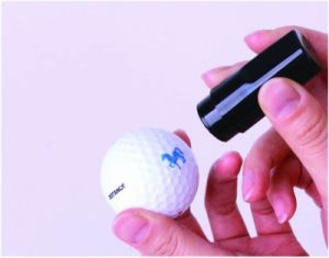 4 Ink Color Golf Ball Stamp pictures & photos