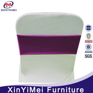 Turquoise Spandex Chair Cover Bands with Round Buckle /Spandex Chair Sash pictures & photos