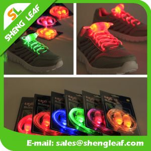 High Quality Nylon LED Shoelaces Glowing Shoelace (SLF-NS012) pictures & photos