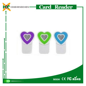Wholesale Heart Memory Card SD Card Reader pictures & photos