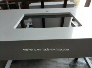 White Engineering Quartz Stone Vanity Tops for Bathroom, Kitchen pictures & photos