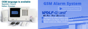 PIR Motion Detector GSM Wireless Security Alarm System pictures & photos