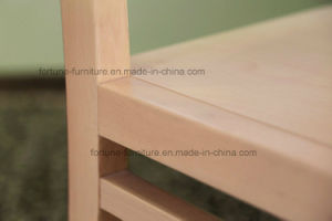 Modern Solid Wood UV Clear Lacquer Dining Chair (AD-FA-W801-CY) pictures & photos