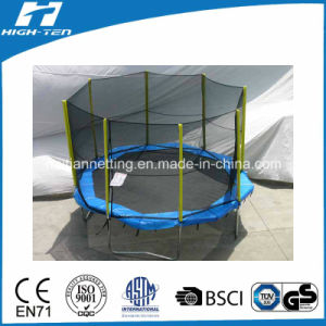 Octangle Shape Big Trampoline with Enclosure pictures & photos