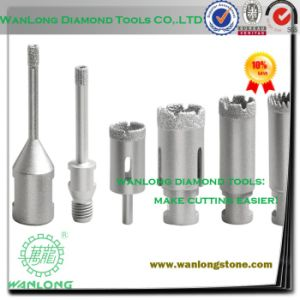 Welding Diamond Drilling Tools for Stone Concrete Processing, Laser Stone Drill Bit pictures & photos