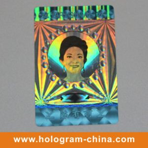 Colorful Security 3D Laser Hologram Label pictures & photos