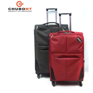 Xelibri Hot Sell 4 Wheels Built-in Polyester Luggage Bag in 3 PCS Set pictures & photos