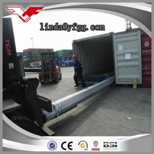 Hot Dipped Galvanized Round Carbon Steel Tube Pipe Manufacture (YOUFA BRAND) Groove Ends pictures & photos