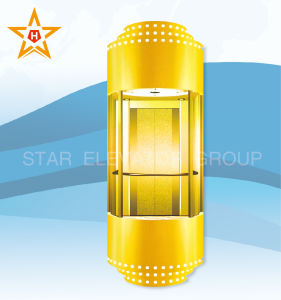 Sightseeing Elevator with Glass Wall (Semicircle Type) Xr-G07 pictures & photos