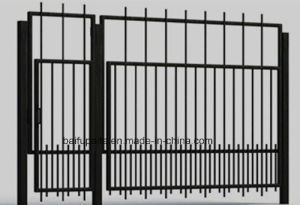 Metal Yard HDG Gate Iron Gates with Sharp End for Security pictures & photos