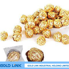 Gold Aluminum Foil Paper Chocolate Packing Use pictures & photos