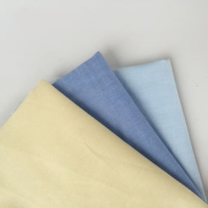 100% Solid Color Woven Cotton Oxford Fabric for Shirt