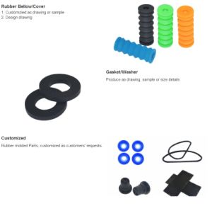 Customized Molded Rubber Plastic Handler pictures & photos
