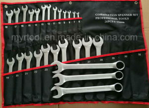 26PCS Good Quality Combiantion Wrench Set in Rolling Bag (FY10262) pictures & photos