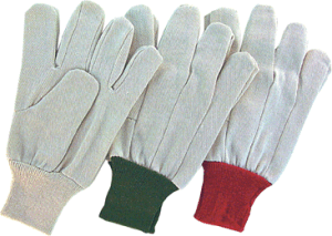 Polyester Drill Cotton Safety Gloves (2100) pictures & photos