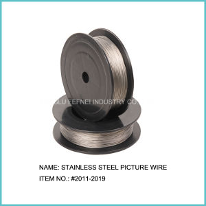 Strainless Steel Picture Frame Hanging Wire pictures & photos
