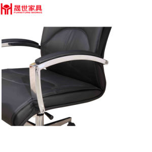 Luxury Boss Excutive Manager Swivel Office Chair PU Leather with Headrest. pictures & photos