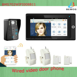 Newest Multi-Functional WiFi Video Door Phone Doorbell Home Security System pictures & photos