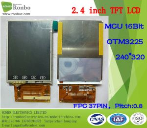"2.4"" 240*320 MCU 16bit 37pin TFT LCD Display with Touch Screen pictures & photos"