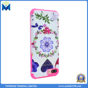 Hotsales Pearl and Flowers Mobile Phone Case for iPhone 6 6s Plus 7 7+ pictures & photos
