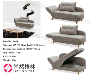 Foshan Best Fabric Folding Sofa Bed Home Furniture Design pictures & photos