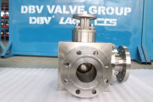 Forged Steel Stainless Steel Three Way Ball Valve pictures & photos