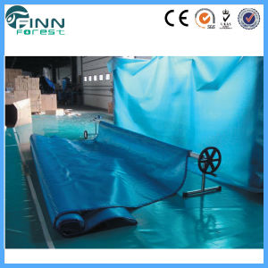Waterproof Plastic Bubble Swimming Pool Cover pictures & photos